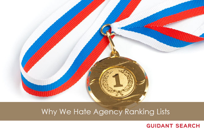 agency rankings list